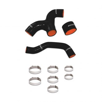 Mishimoto® - Black Silicone Intercooler Hose Kit