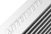 Mishimoto® - Silver Polished Aluminum Intercooler