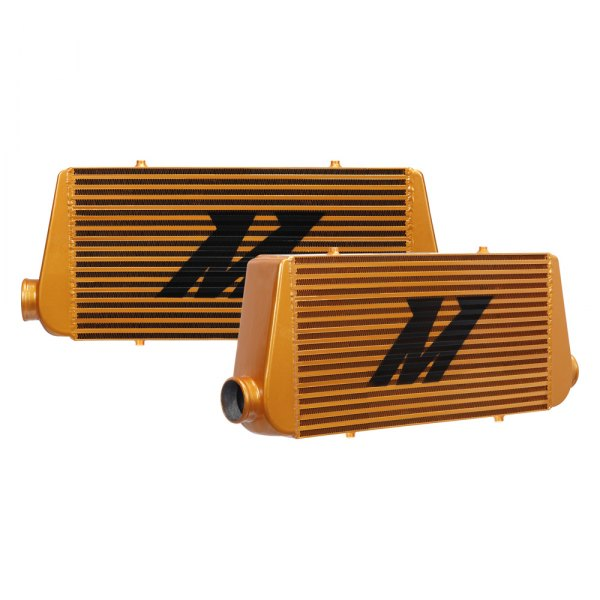 Mishimoto® - R-Line Gold Painted Aluminum Intercooler