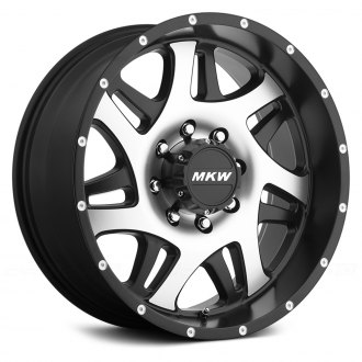 MKW OFF-ROAD® - M91 Gloss Black with Machined Face