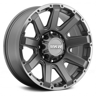 MKW OFF-ROAD® - M94 Gray with Machined Ring