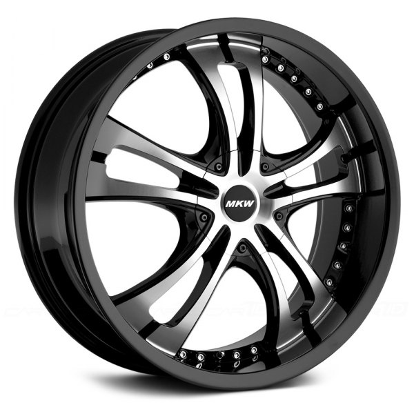 MKW® - M101 Gloss Black with Machined Face