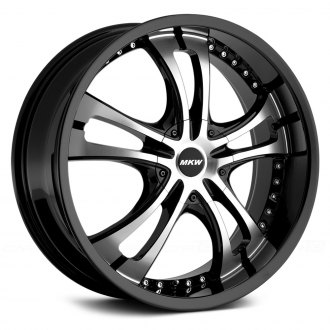 MKW� - M101 Gloss Black with Machined Face