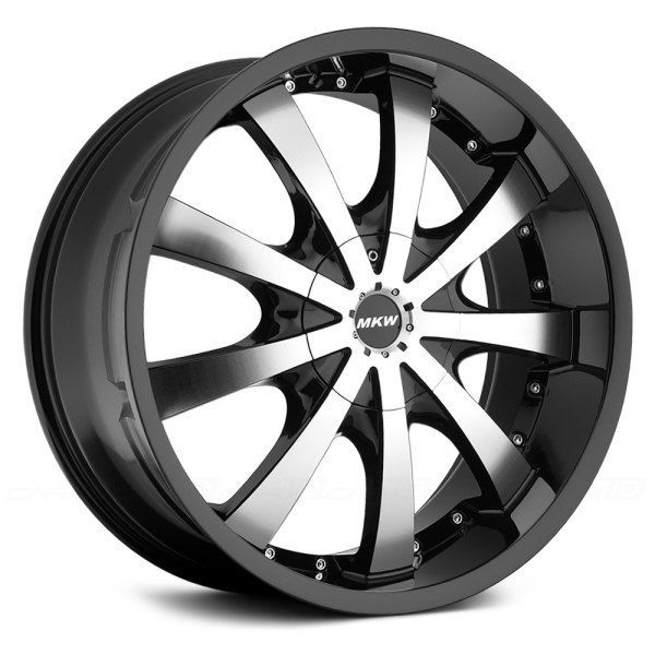 MKW® - M102 Gloss Black with Machined Face