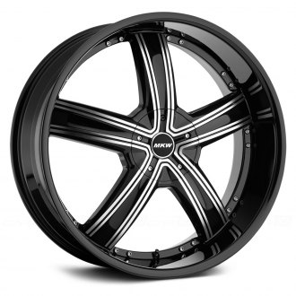 MKW® - M103 Gloss Black with Machined Face