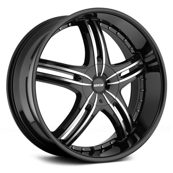 MKW® - M105 Gloss Black with Machined Face