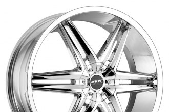 "MKW® - M106 Chrome (17"" x 7.5"", +40 Offset, 5x114.3 Bolt Pattern, 73mm Hub)"