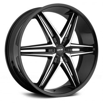 MKW® - M106 Gloss Black with Machined Face