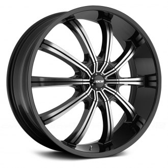 MKW® - M111 Gloss Black with Machined Face