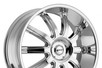 "MKW® - M112 Chrome (18"" x 7.5"", +40 Offset, 5x100 Bolt Pattern, 73mm Hub)"