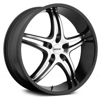 MKW® - M113 Gloss Black with Machined Face