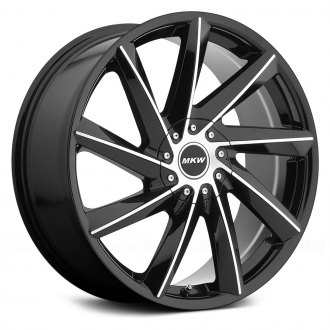MKW® - M115 Gloss Black with Machined Face
