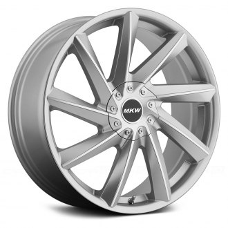 MKW® - M115 Gloss Silver with Machined Face