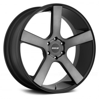 MKW® - M117 Black with Tint Face