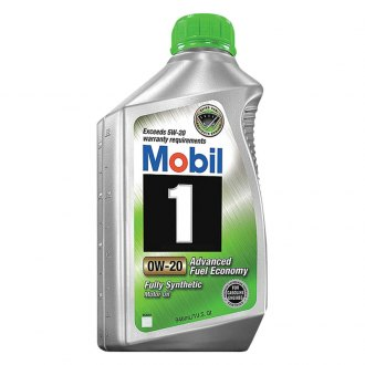 Mobil 1® - SAE 0W-20 Advanced Fuel Economy Synthetic Motor Oil 1 Quart
