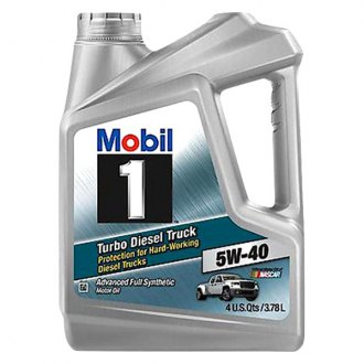 Mobil 1® - SAE 5W-40 Turbo Diesel Truck Full Synthetic Motor Oil