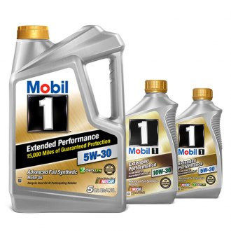 Mobil 1® - Extended Performance Synthetic Motor Oil
