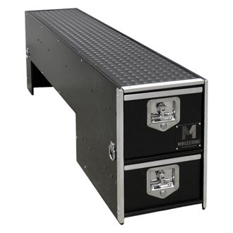 MobileStrong® - HDP™ Wheel Well Drawer Storage with Bed Slide Package