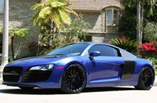 Modular Society Slate Custom Painted on Audi R8