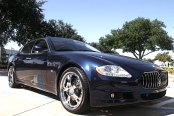 MODULAR SOCIETY� - TENSION 5 Chrome on Maserati Quattroporte