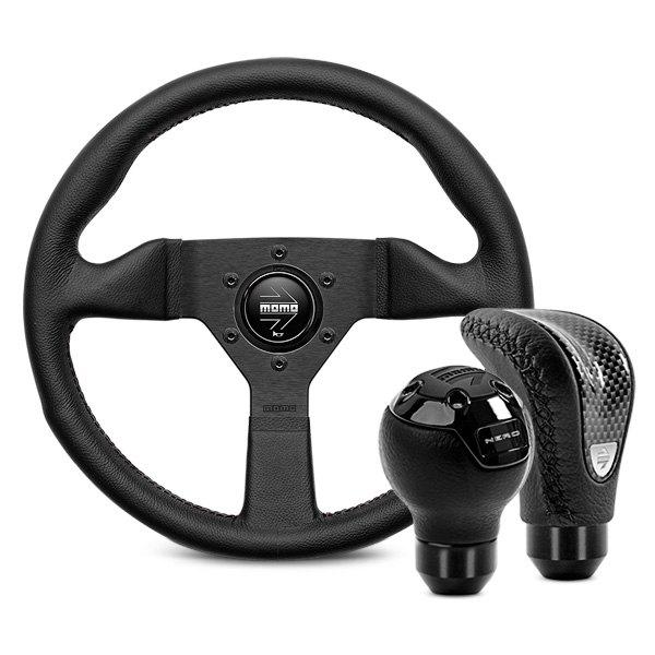Acondicionamiento interior MOMO Automatico Black Shift Knob by MOMO AUTOBK1