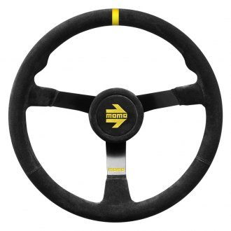 MOMO® - 3-Spoke MOD.N38 Series Steering Wheel with Yellow Center Mark