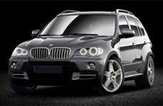 Momo Storm G2 Silver on BMW X5