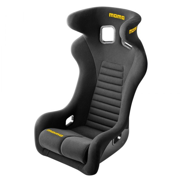 MOMO® - Daytona Series Black Racing Seat, L Size
