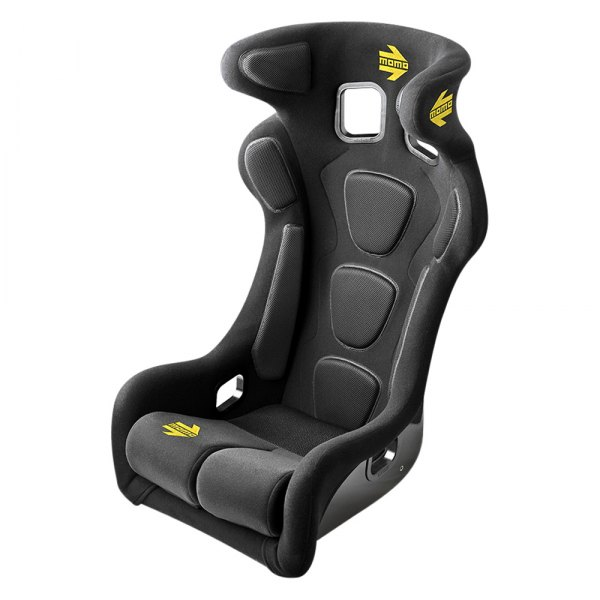 MOMO® - Daytona Evo Series Black Racing Seat, L Size