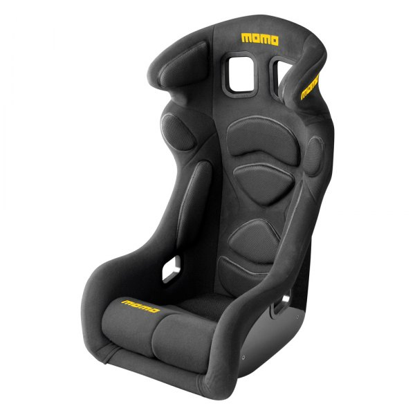 MOMO® - Lesmo One Series Black Racing Seat, L Size