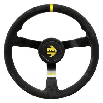 MOMO® - MOD.41 Series Steering Wheel with Stripes, Black Suede