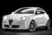 MOMO® - NEXT Anthracite with Machined Face on Alfa Romeo MiTo