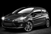 MOMO® - NEXT Anthracite with Machined Face on Ford Fiesta