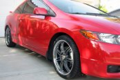 MOMO® - RPM Anthracite with Machined Lip on Honda Civic