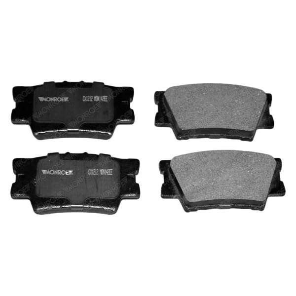 toyota camry 2008 brake pads front ceramic brake pad set rotor kit for 2008 2014 toyota camry. Black Bedroom Furniture Sets. Home Design Ideas