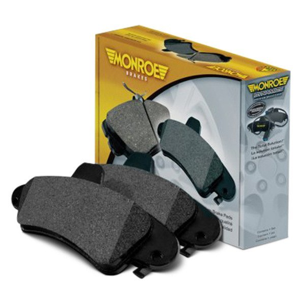Monroe® - Total Solution™ Semi-Metallic Rear Disc Brake Pads