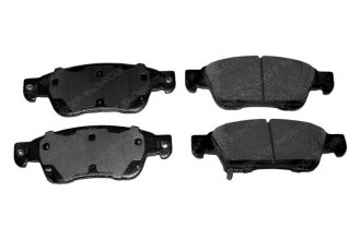 Monroe® GX1287 - ProSolution™ Ceramic Front Brake Pads