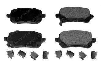 Monroe® GX1326 - ProSolution™ Ceramic Rear Brake Pads