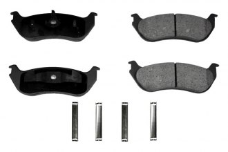 Monroe® GX881A - ProSolution™ Ceramic Rear Brake Pads