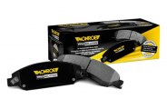 Monroe® - ProSolution™ Semi-Metallic Front Brake Pads