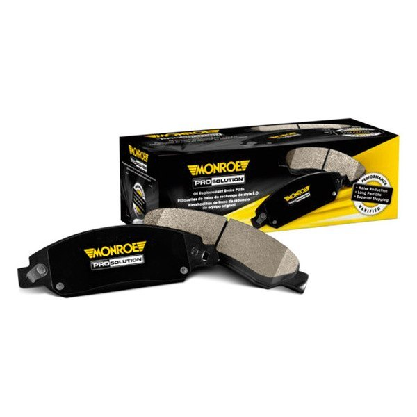 Image may not reflect your exact vehicle! Monroe® - ProSolution™ Ceramic Rear Disc Brake Pads