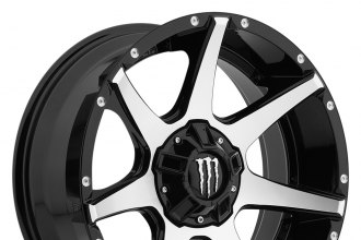 MONSTER ENERGY® - 647MB Gloss Black with Mirror Machined Face