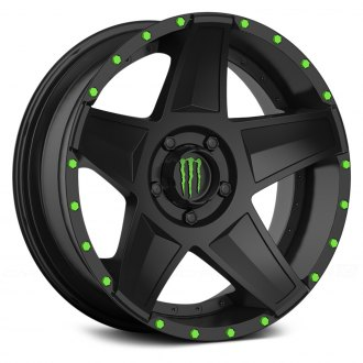 MONSTER ENERGY® - 648B Satin Black