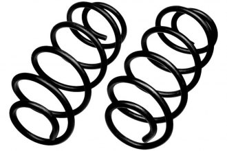 MOOG® 81069 - Heavy Duty Replacement Rear Coil Springs