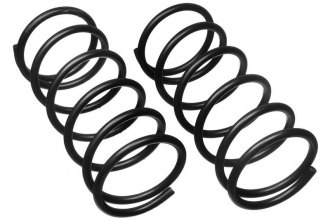 MOOG® 81119 - Rear Coil Springs