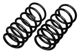 MOOG® - Rear Coil Spring Set