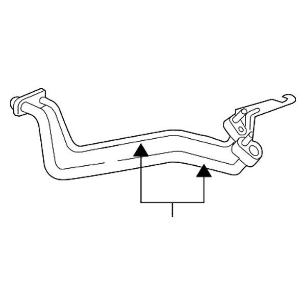 mopar u00ae 68091028ad  c refrigerant liquid hose