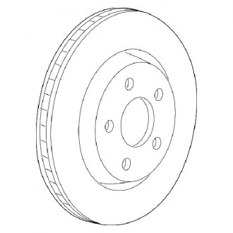 Mopar® - 1-Piece Brake Rotor