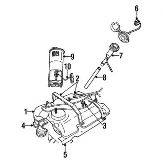 Fine Plymouth Prowler Replacement Fuel Pumps Components Carid Com Wiring Digital Resources Remcakbiperorg