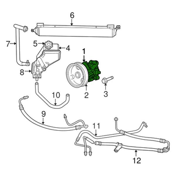 mopar® - power steering pump kit